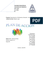 Plan de Acción (Regimen Legal)