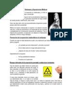 Embarazo y Exposiciones Médicas