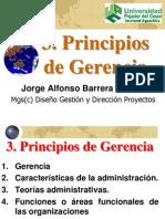 3 Principios de Gerencia