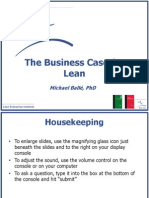 Balle Advance Business Case for Lean (1)