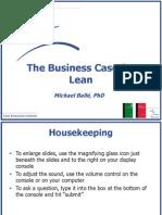 Balle Advance Business Case for Lean (1)