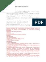 Caso 11 Do Comitê de Liberdade Sindical - Legislação Getulista -Completo