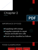 Chapter 2 - Classes of food