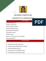 Resumen Curricular Loxinette - Copia