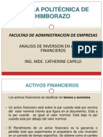 Inversion en Activos Financieros