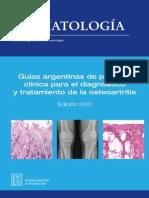 Guias Reumatologica de Osteoartritis SAR 2010