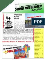 07 13 Newsletter