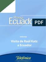 Lanzamiento en Ecuador