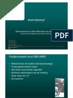 Mobiel Bankieren bij ABN AMRO Bank als case-studie