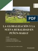 Globalización y Nueva Ruralidad en Puñun- Maray