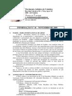 Informação n.º 16 - Novembro de 2009
