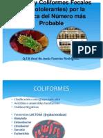 Detección de Coliformes Totales y Coliformes Fecales