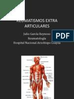 Julio 01 - Reumatismos Extra Articulares