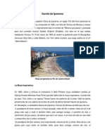 Garota de Ipanema (Origen y Letra en Español y Portuges-Brasil)