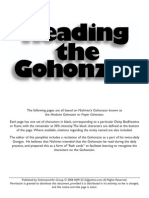 Reading the Gohonzon