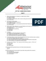 DTT 105 Quiz 1