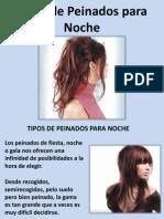 Tipos de Peinados Para Noche