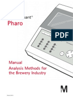 Manual Analysis Methods for the Brewery Industry Pharo 2011-03