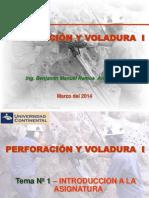 Perforacion y Voladura I-Tema01