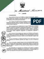 RM y Directiva Directores