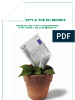 Wwf Biodiversity and Eu Budget