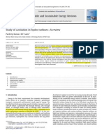 Kumar - Study of Cavitation in Hydro Turbines--A Review