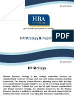 HR Strategy & Reporting