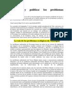 Ecologia Verde, Problemas Ambientales en Nicaragua