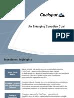 Coalspur Corp PresentationFinal2