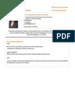 Curriculum Vitae Mabel Riquelme (1)