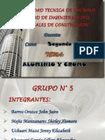 Aluminio y Cromo