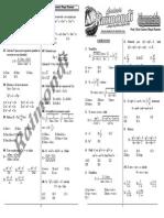 5 Identidades Trigonométricas II