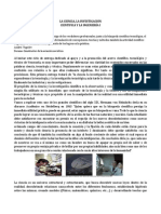 LA CIENCIA La Investigacion Cientifica i La Ingenieria