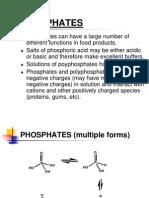 Phosphates in Food