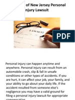 Anatomy of New Jersey Personal Injury Lawsuit