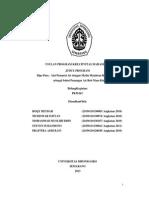 Laporan Kemajuan - PKM KC - 2013 - ROQY - Dipopure Alat Penjernih