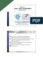 2-4-2 Energy Yield Assessment