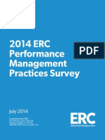 14 Performance Management Practices Survey