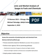 Precio Syngas