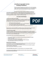 AG Society Sponsorship Guidelines