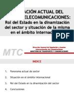 Situación Actual Del Sector de Telecomunicaciones - Hayine Guzukuma