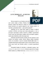 Liviu Rebreanu-scriitor realist