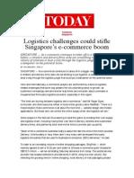 Logistics Challenges Could Stifle Singapore's E-commerce Boom