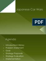 Japanese Car Wars