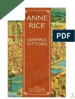 Anne Rice-Vampirul Vittorio