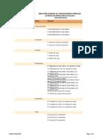 Listado de Renglones Electrodomésticos 2012