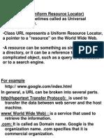 URL Classes