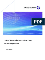 ALU 2G BTS Installation Guide Line