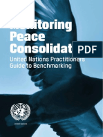 Monitoring Peace Consolidation