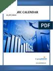 U.S.Economic Calendar Weekly Report by Money CapitalHeight